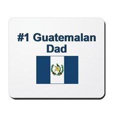 #1 Guatemalan Dad Mousepad