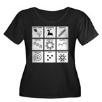 Pysanka Symbols Women's Plus Scoop T-Shirt