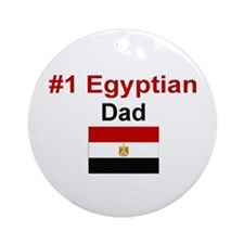 Egyptian #1 Dad Keepsake Ornament
