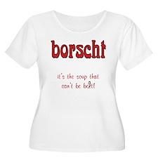 Borscht can't be beet Women's Plus Size Scoop Tee