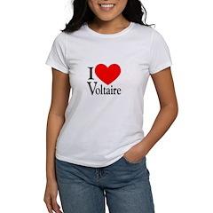 I Love Voltaire Tee