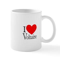 I Love Voltaire Mug