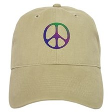 Classic Rainbow Peace Sign Baseball Cap