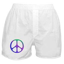 Classic Rainbow Peace Sign Boxer Shorts