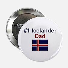 Icelander #1 Dad Button