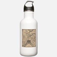 Vintage Map of New Orl Water Bottle