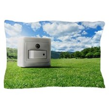 Power switch Pillow Case