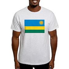 Rwanda Flag T Shirts T-Shirt