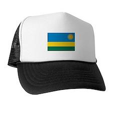 Rwanda Flag T Shirts Trucker Hat