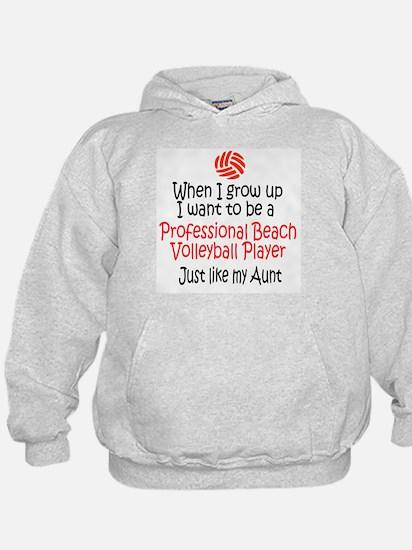 WIGU Pro Beach Volleyball Aunt Hoodie