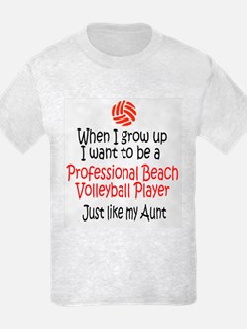WIGU Pro Beach Volleyball Aunt T-Shirt