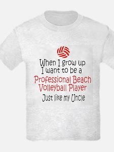 WIGU Pro Beach Volleyball Uncle T-Shirt