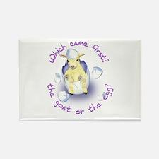 Goat Egg Rectangle Magnet