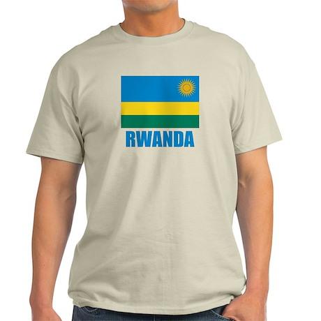 Rwanda Flag Light T-Shirt