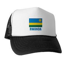 Rwanda Flag Trucker Hat