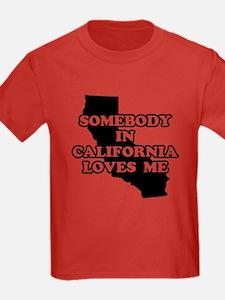 Somebody In California Loves T