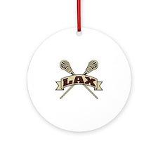 LAX Ornament (Round)