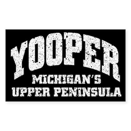 Yooper Rectangle Sticker