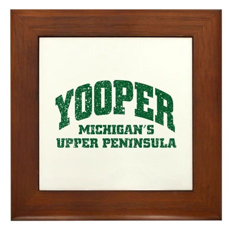 Yooper Framed Tile