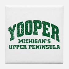 Yooper Tile Coaster