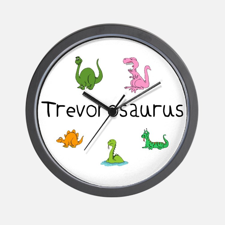 Trevorosaurus Wall Clock