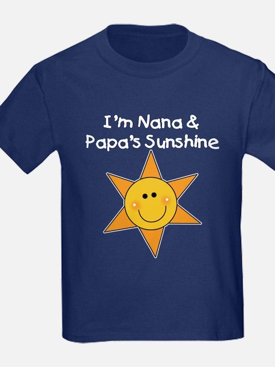 Nana and Papa's Sunshine T