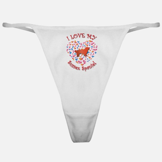Love Sussex Classic Thong