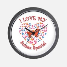 Love Sussex Wall Clock