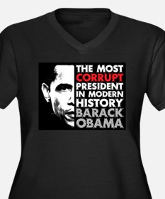 Most Corrupt President Plus Size T-Shirt