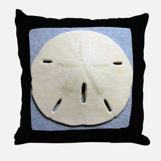 My Lucky Sand Dollar Throw Pillow