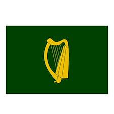Cute Irish harp Postcards (Package of 8)