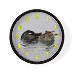 California Sea Otter Wall Clock