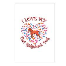 Love Ridgeback Postcards (Package of 8)