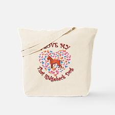 Love Ridgeback Tote Bag