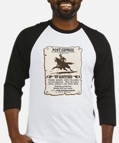 Pony Express Baseball Jersey