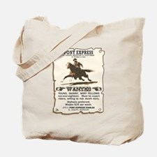 Pony Express Tote Bag
