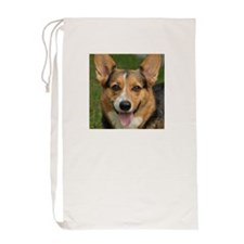Pembroke Welsh Corgi dog Laundry Bag