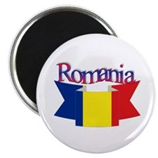The Romanian flag Magnet