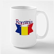 The Romanian flag Large Mug