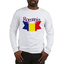 The Romanian flag Long Sleeve T-Shirt