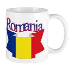 The Romanian flag Mug