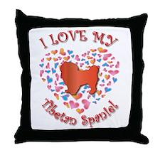 Love Tibbie Throw Pillow