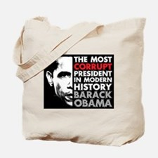 Most Corrupt President Tote Bag
