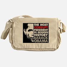 Most Corrupt President Messenger Bag