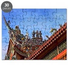 Taiwan cultural temple Puzzle