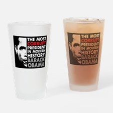 Most Corrupt President Drinking Glass