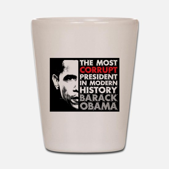 Most Corrupt President Shot Glass