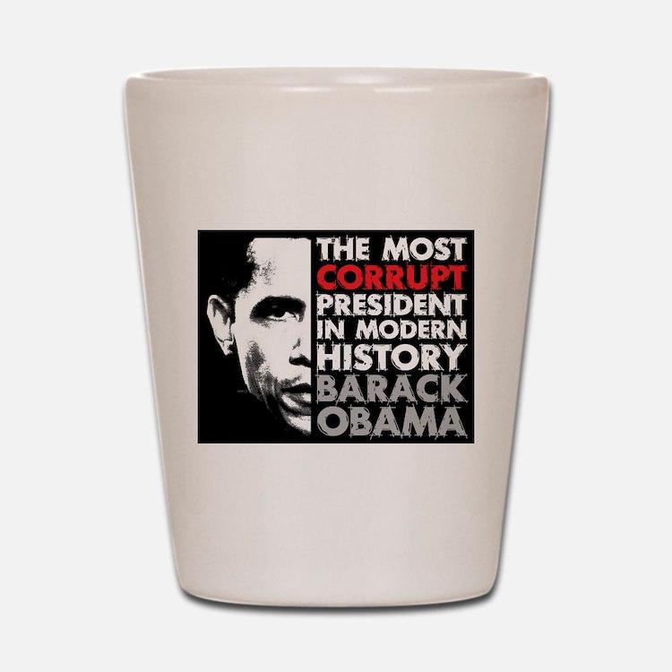 Most Corrupt President Shot Glass