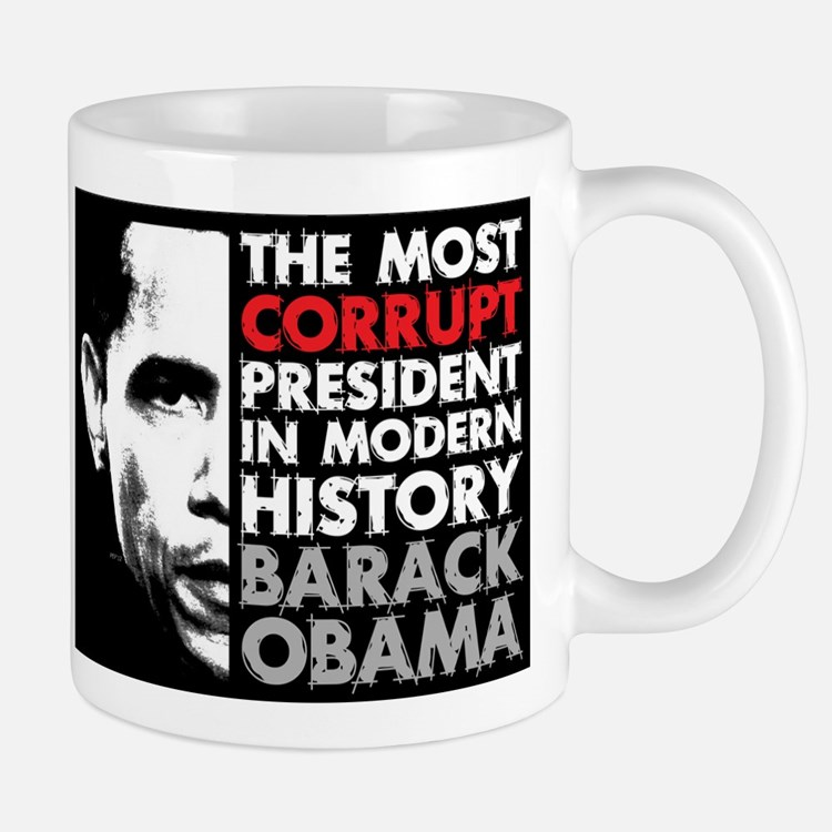 Most Corrupt President Mugs
