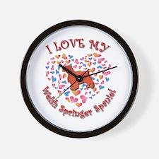 Love Welshie Wall Clock